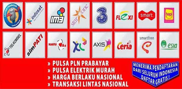 Distributor Agen Pulsa Murah Bondowoso